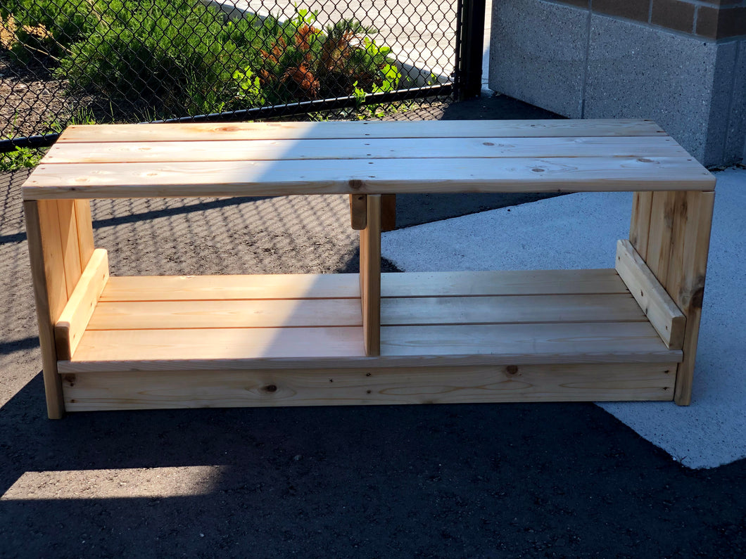 Outdoor Bench and Storage