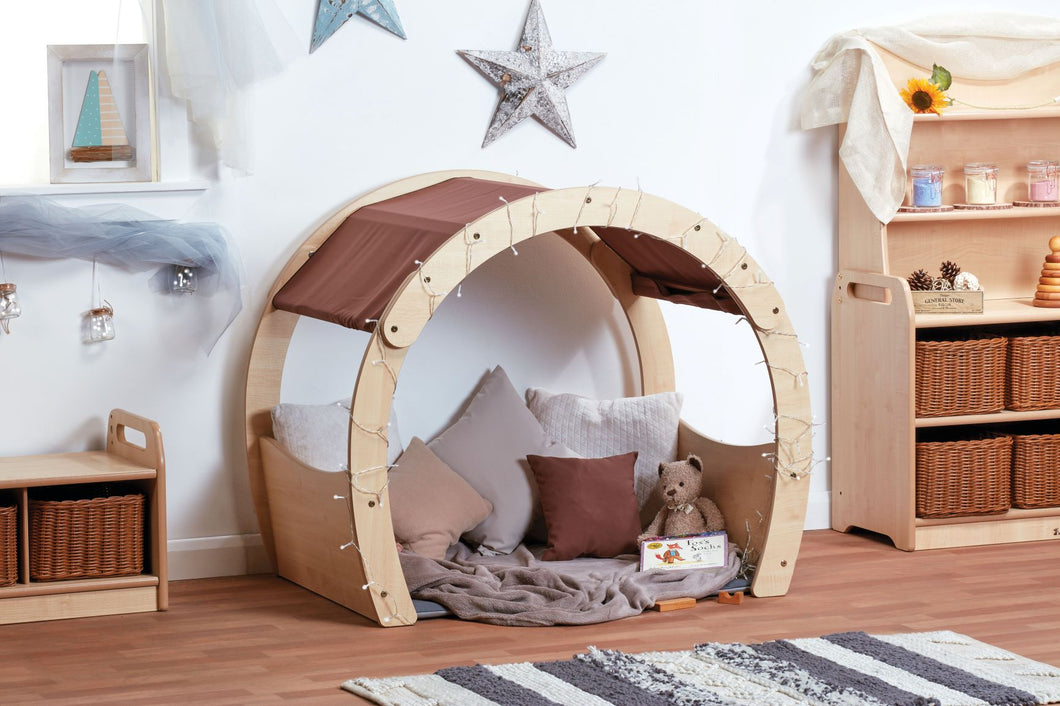 Small Cosy Den with Taupe Roof