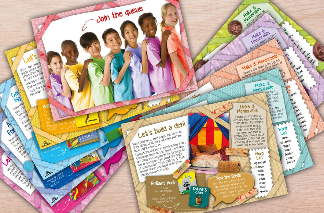 Math Language Activity Cards- Big and Small