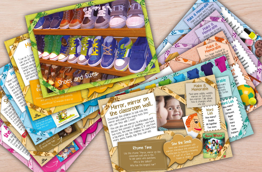 Whole Body Math Activity Cards