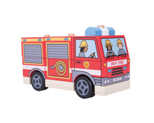 Load image into Gallery viewer, Stacking Fire Engine