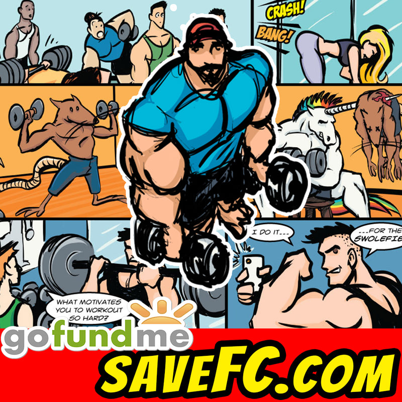 Save Flex Comics: Toss a coin to your Flexers GoFundMe