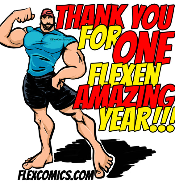 Flex Comics One Year Anniversary