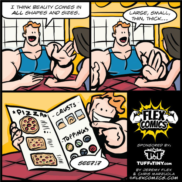 All Shapes and Sizes – Flex Comics