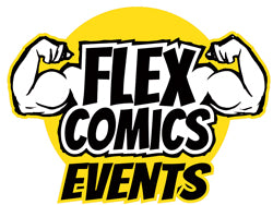 Flex Comics Events Logo