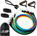 Flex Comics LEVEL UP Training Resistance Bands - 11 Piece Set