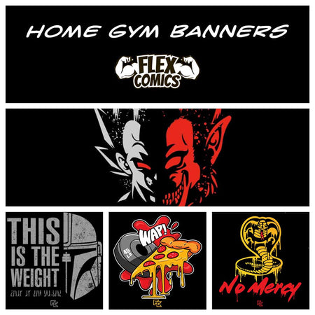 Home Gym Banners