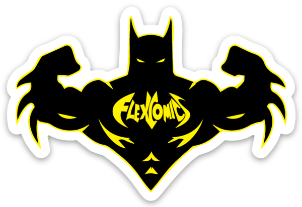 Bat Flex - Vinyl Sticker