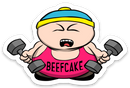 Beefcake - Vinyl Sticker