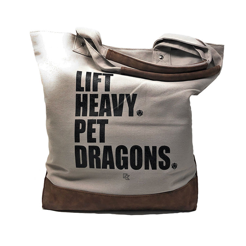 Bag of Holdings: Lift Heavy. Pet Dragons.