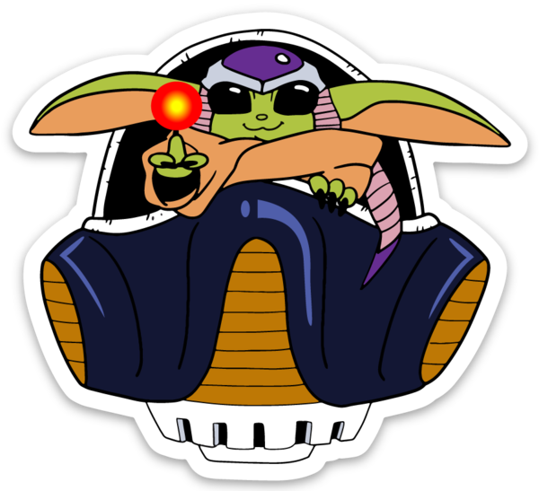 Baby BROda Planet Destroyer - Vinyl Sticker