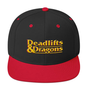 Deadlifts & Dragons - Classic Snapback Hat