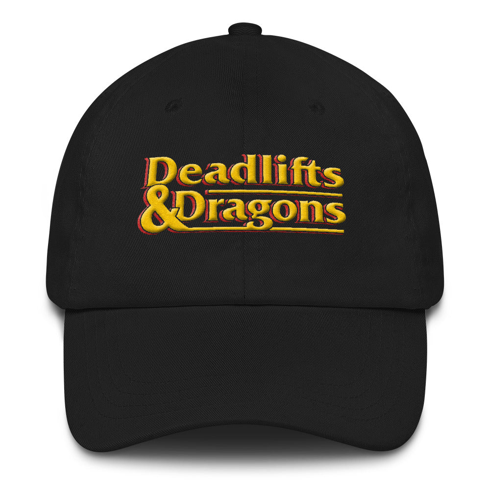 Deadlifts & Dragons - Classic Dad Hat