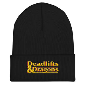 Deadlifts & Dragons - Beanie