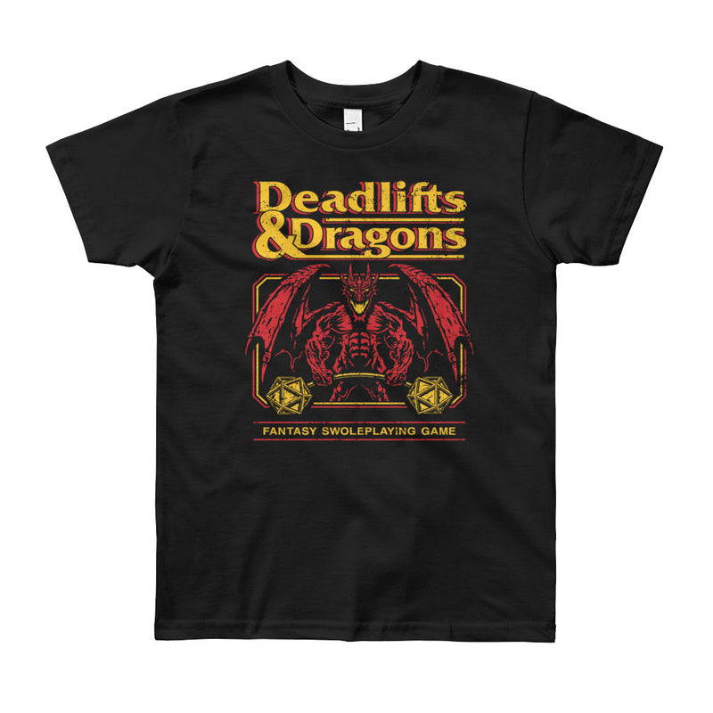 Deadlifts & Dragons - Youth