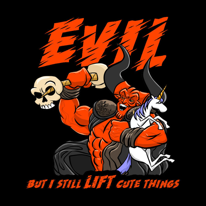 Evil, But I Still Lift Cute Things