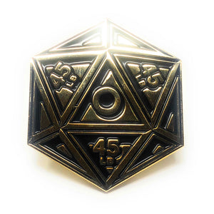 Flex Comics Crit Dice - Pin