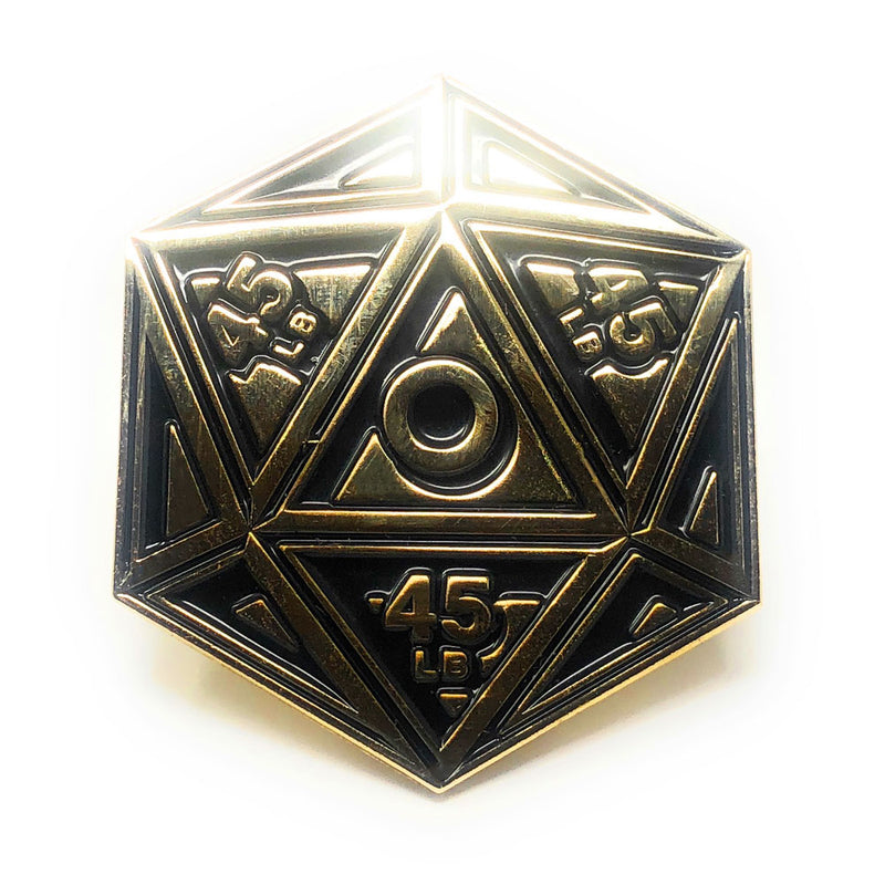 Flex Comics Logo Dice - Pin