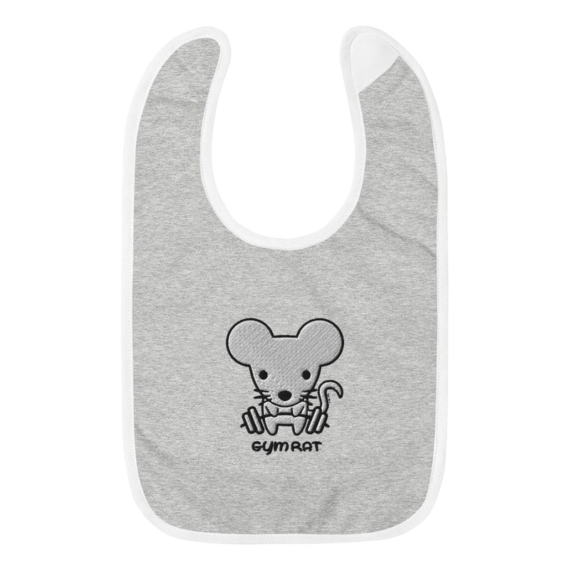 Gym Rat - Baby Bib