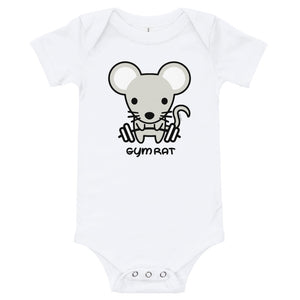 Gym Rat - Baby Onsie