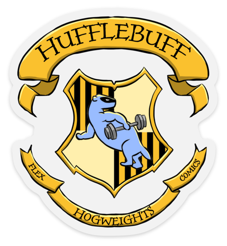 HogWeights: House HuffleBUFF - Decal