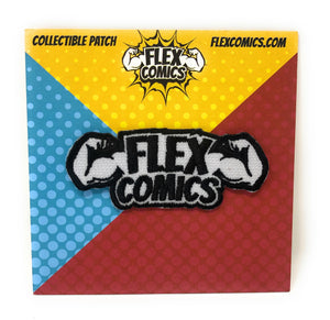 Flex Comics Logo - Patch