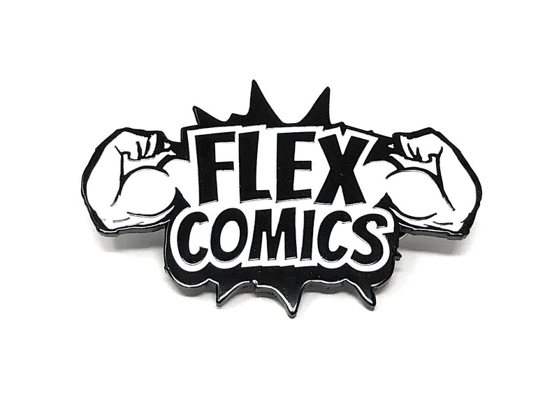 Flex Comics Collectable Pin