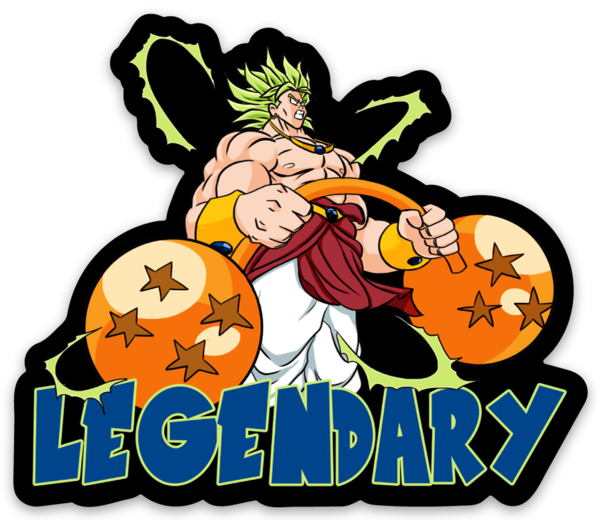 Legendary - Vinyl Sticker