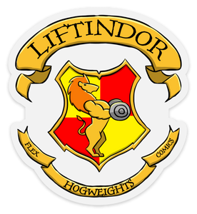 HogWeights: House LIFTindor - Decal