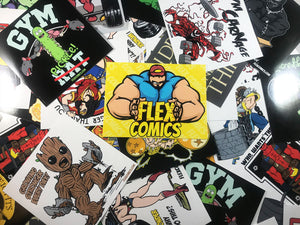 Sticker Pack by Flex Comics
