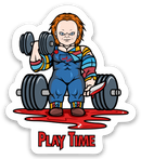 Play Time - Vinyl Sticker