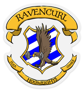 HogWeights: House RavenCURL - Decal