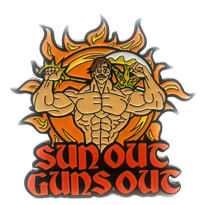 Suns Out Guns Out - Pin