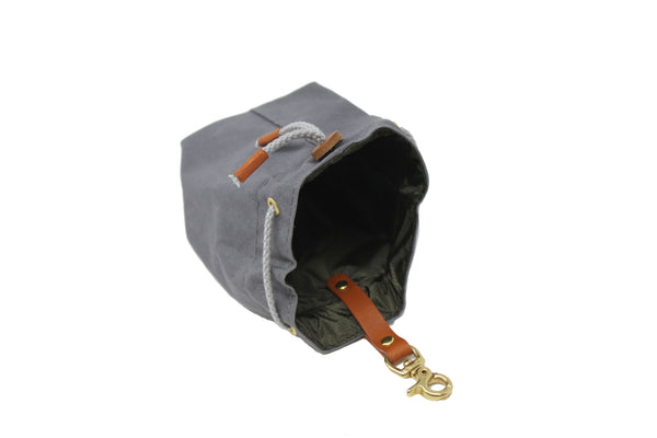 Snack Bag York - grey/brown