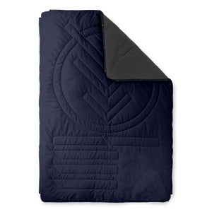 Decke FLEECE PILLOW BLANKET - Navy Blue