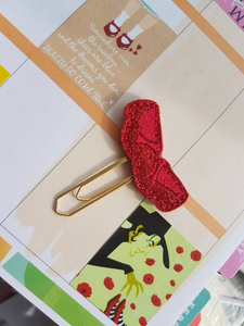 Ruby Red Slippers Paper Clip