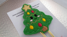 Load image into Gallery viewer, Christmas Tree Kawaii Paper Clip
