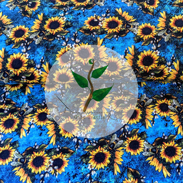 Sunflowers and Bees3 - FT 260 gsm