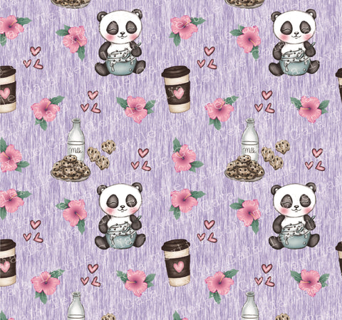 STOCK Panda Love - FT Cotton 280 gsm