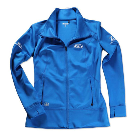 Ladies LOE Electric Blue Jacket