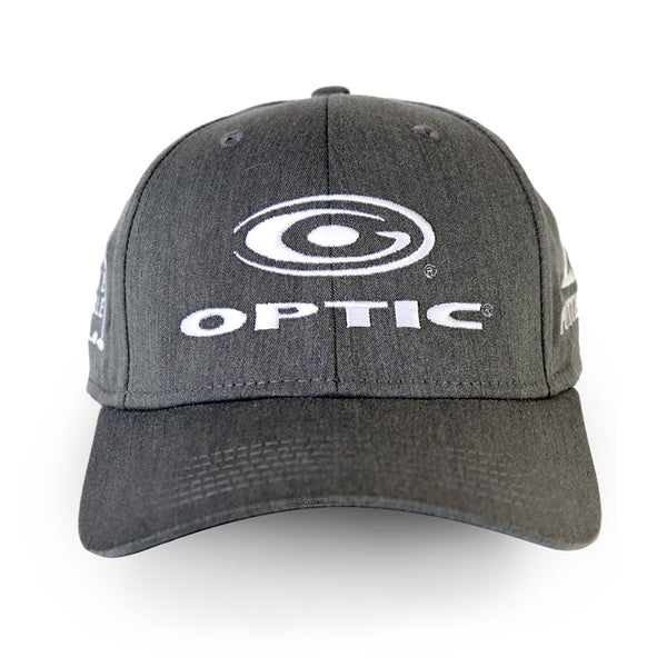 Charcoal Gray Adjustable Tour Hat