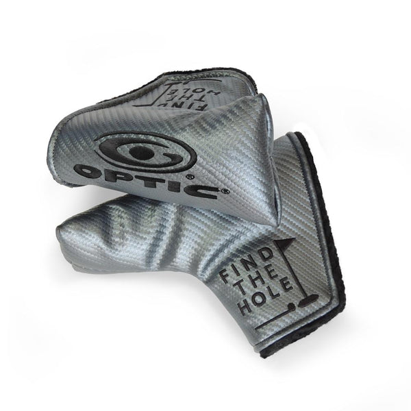 DuraArmor Optic Z Headcover Gunmetal with Black Embroidery