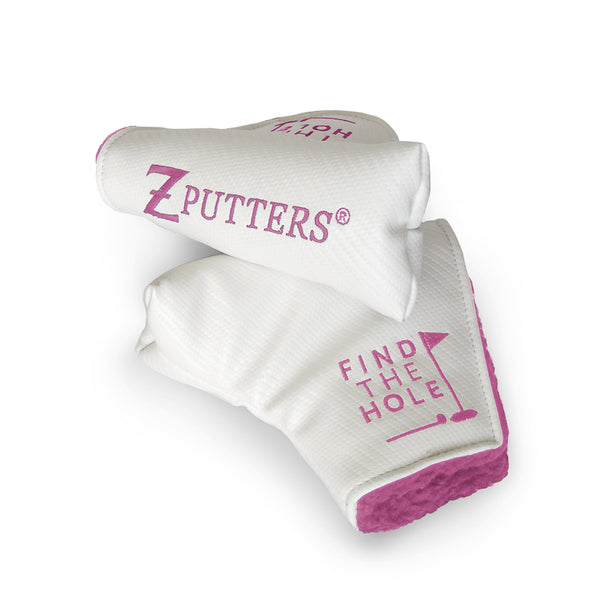 DuraArmor Optic Z Headcover White with Pink Embroidery