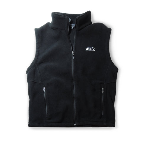 Men's Black Fleece Vest