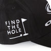 Black and White 100% Cotton Adjustable Tour Hat