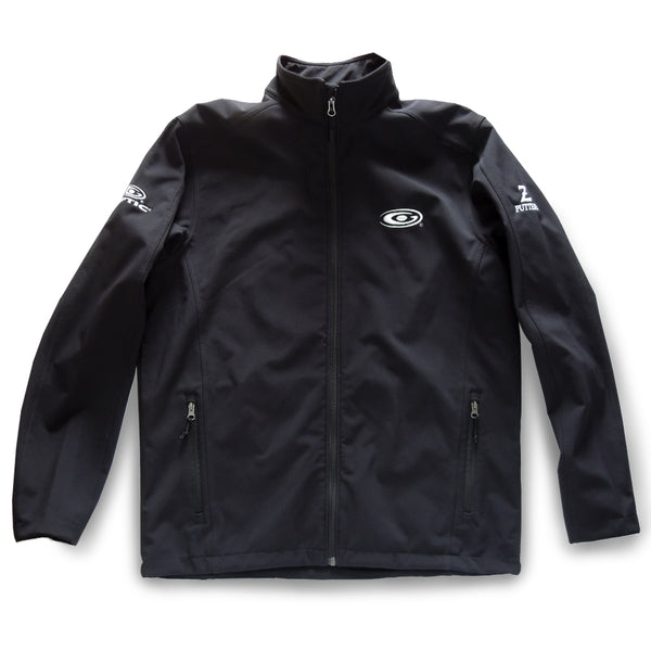 Men's Black Lightweight Sheer Softshell Jacket