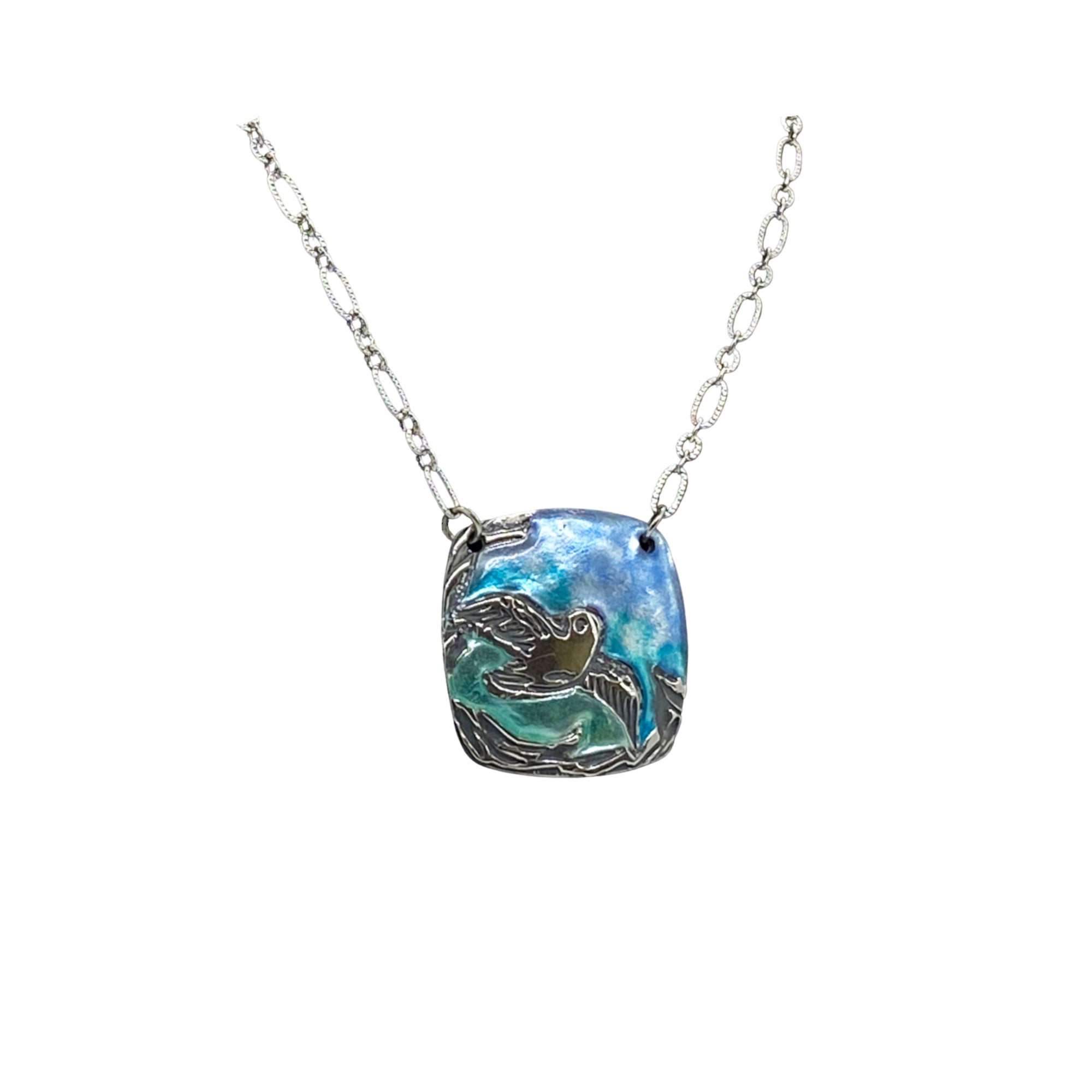 Camille Patton Pearly Bird Cosmos Jewelry Necklace S01
