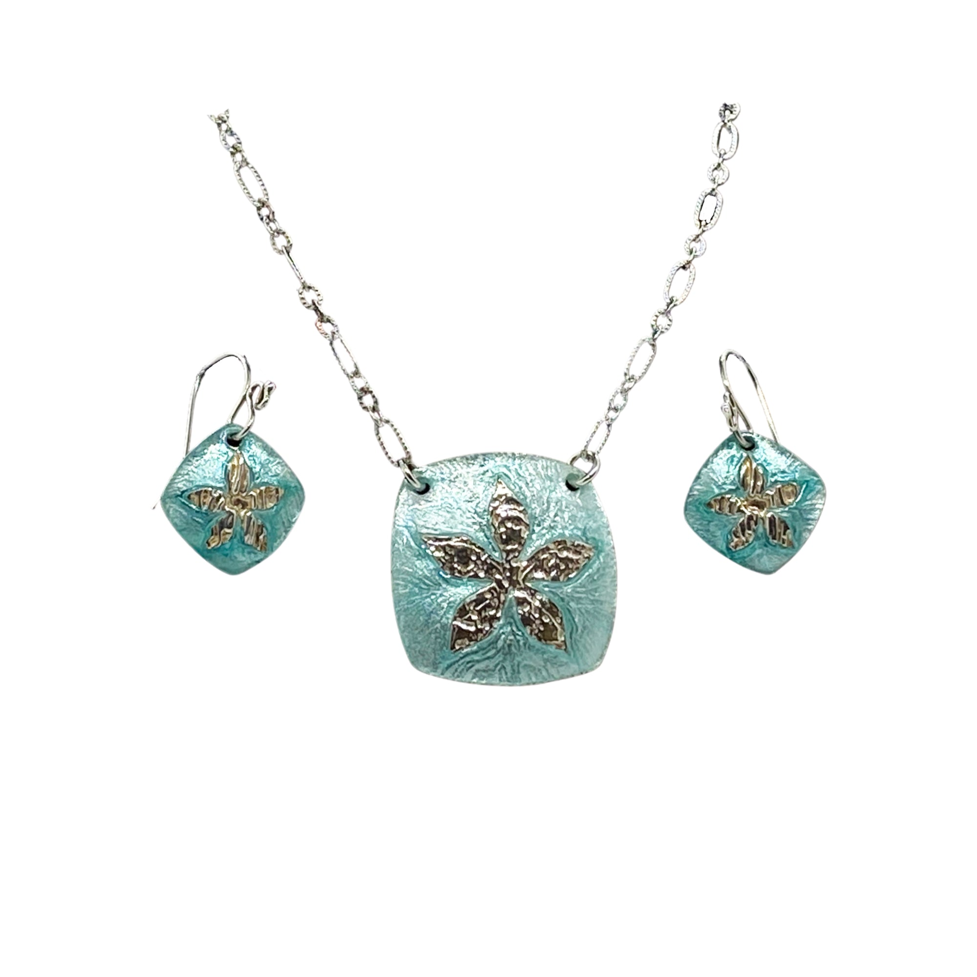 Camille Patton Pearly Posy Cosmos Jewelry Set S01