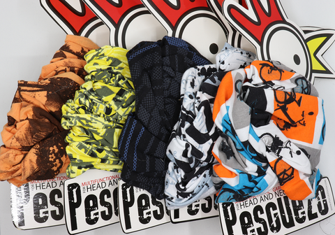 Mask / Bandana 5 pack PESPACK2