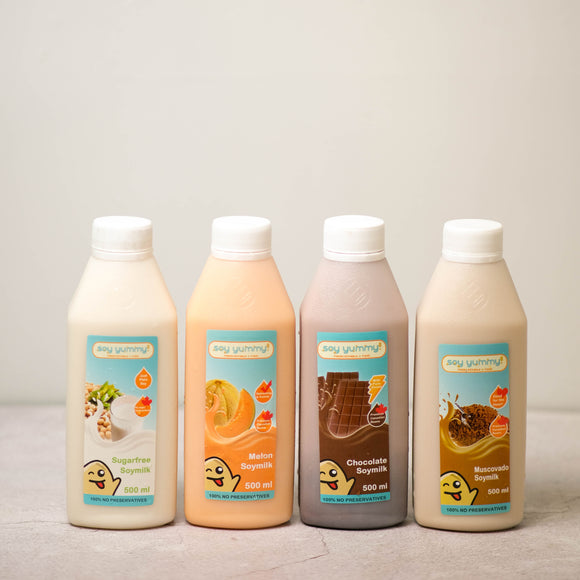 Bundle of 4 Soymilk (500mL)